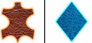 diferencias entre cuero