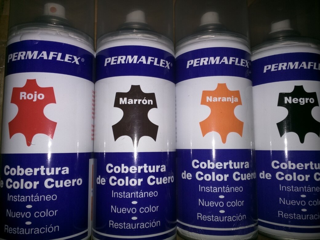 Pintura en spray para cuero