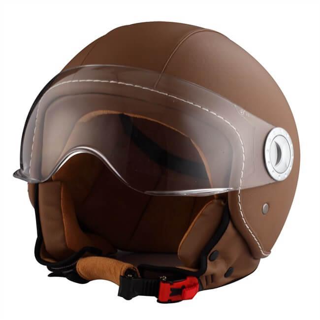 cascos de cuero
